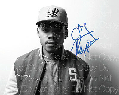 Chance the Rapper signed Acid Rap Surf 8X10 photo picture poster autograph RP 2