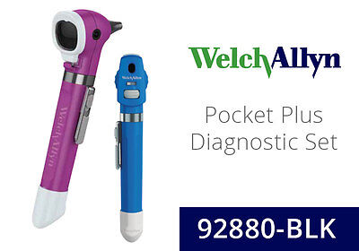 Welch Allyn SureColor LED 2.5 V Pocket Plus Diagnostic Set with Ophthalmoscope,