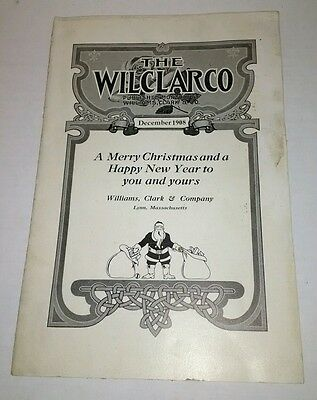 Vintage Wilclarco Williams Clark Shoe Co 1908 Catalog Lynn Mass Christmas