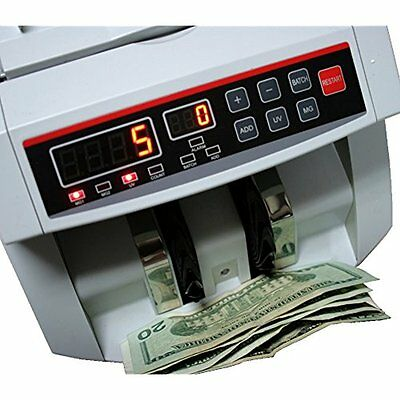 BlueDot Trading Currency Bill Cash Banknote Bank Money Count Counter Detects