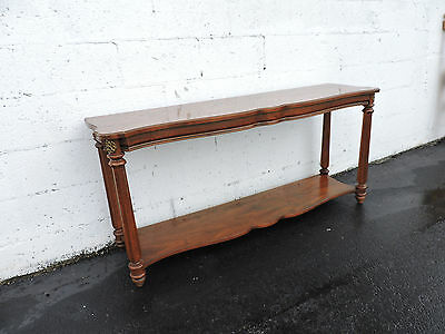 Long Narrow Vintage Console Table / TV Stand by Gordon's 7056