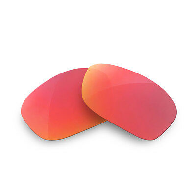 Fit&See Polarized Red Replacement Lenses for Oakley Two Face