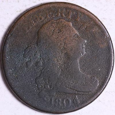 1804 Draped Bust Half Cent R11ET