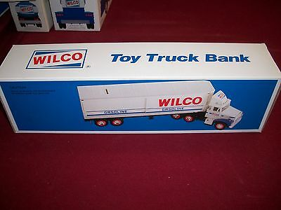 1988 Wilco Toy Truck Bank, Like Hess. N.i.b.