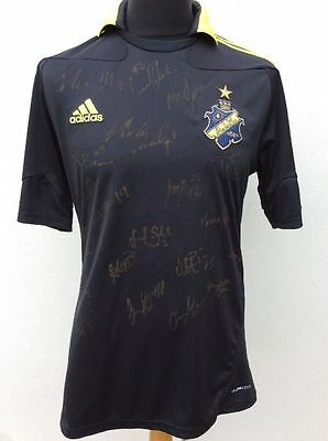A I K Stockholm.adidas Home Shirt,2010-11, Autographed,medium