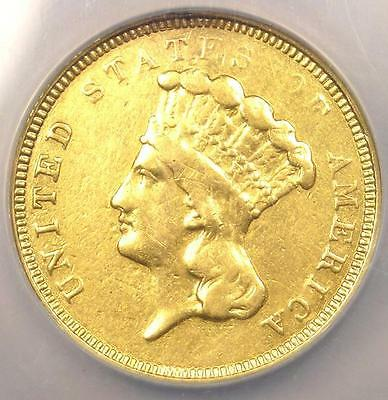 "1854-O Three Dollar Indian Gold Piece $3 - NGC VF Details - Rare ""O"" Mint!"