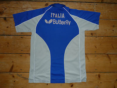 playerworn ITALY  Badminton Shirt BUTTERFLY  Large