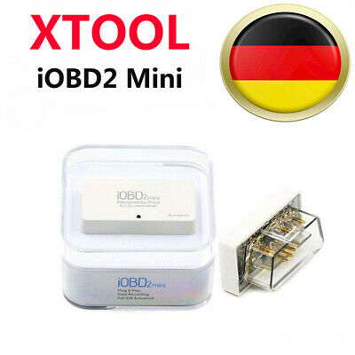 New XTOOL iOBD2 Mini Bluetooth 4.0 Code Reader Engine Scanner For IOS Android