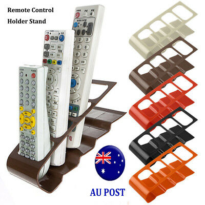TV DVD VCR Remote Control Mobile Cell Phone Holder Stand Storage Organizer MN