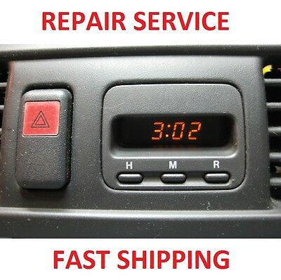 Honda 96-01 CRV CR-V Digital Clock REPAIR SERVICE