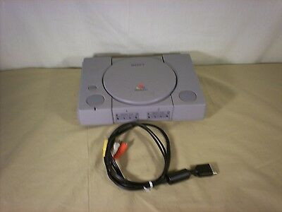 Sony PlayStation 1 Gray Console & AV cord Only (SCPH-9001)  - Works Great! PS1