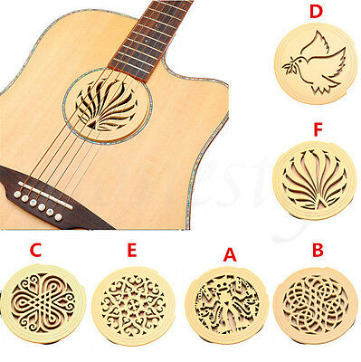 Soundhole Cover For Acoustic Guitar Feedback Buster Sound Buffer Hole Protector