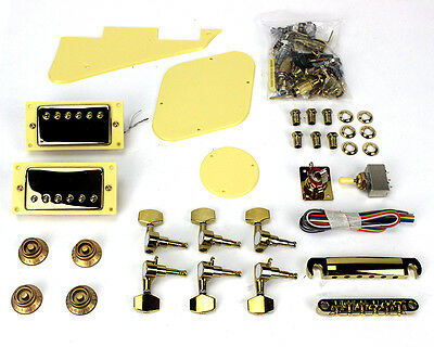 Pit Bull Guitars LP-1 Pickup and Hardware Upgrade – Gold