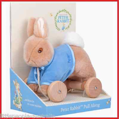 Pull Along Peter Rabbit Plush Toys NEW