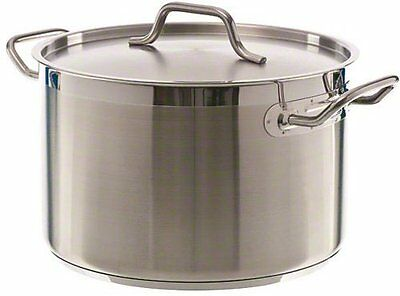 Update International SPS-12 12 Qt Induction Ready Stainless Steel Stock Pot