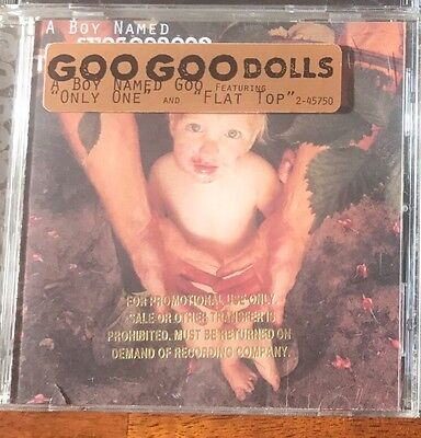 "Goo Goo Dolls ""A Boy Named Goo"" CD. Near Mint!"