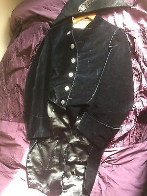 Vintage/Antique * Henry Poole * Savile Row, silk velvet court suit, Edwardian