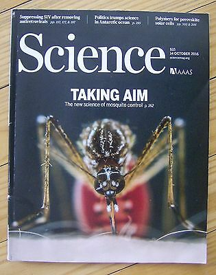 AAAS SCIENCE magazine 2016 2017 4-issue lot October December January