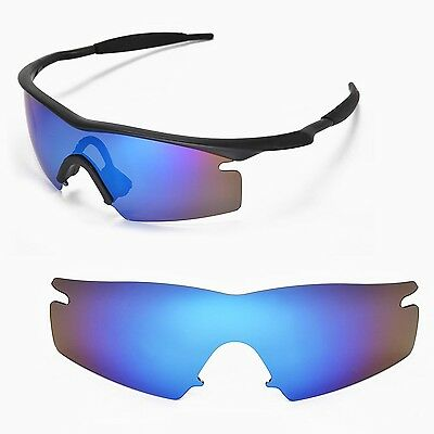 Fit&See Polarized Blue Replacement Lenses for Oakley M Frame Strike