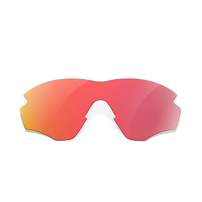 Fit&See Red+Green+Black+Blue+Titanium Replacement Lenses for Oakley M2 Frame