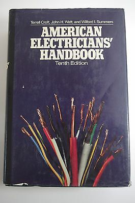 American Electricians Handbook Croft Summers 2002 10th Edition Electrical NEC