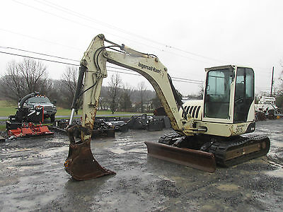 2007 Ingersoll Rand ZX75 Midi Excavator w/ Cab. Coming in Soon!