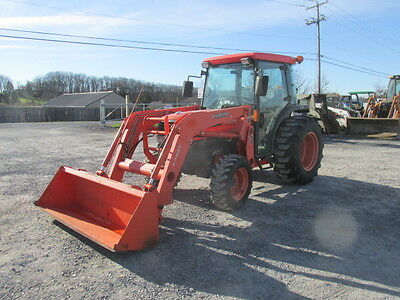2006 Kubota L4630 4x4 Compact Tractor w/ Cab & Loader. Coming in Soon!