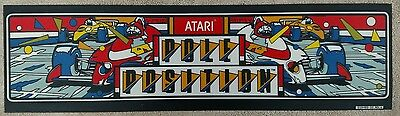 "Vintage ""Pole Position"" Arcade Video Game Marquee by Atari"