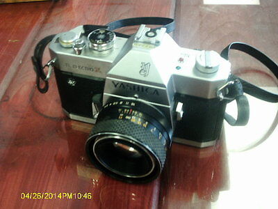 Yashica TL Electro X 35mm SLR Film Camera parts or repair