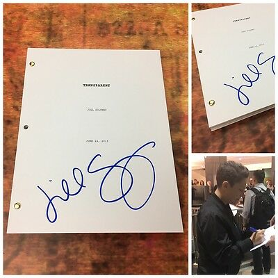GFA Transparent Director * JILL SOLOWAY * Signed TV Series Script PROOF T3 COA