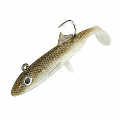 Cod Bass Wrasse Pollock Ling Sea Fishing Lures Sidewinder Weedless Minnows
