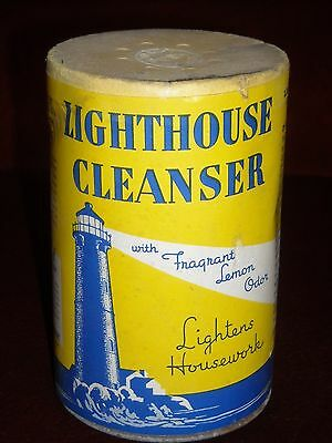 Vintage Lighthouse Cleanser W/ Fregrant Lemon, Armour & Co. Unopened.   Sealed