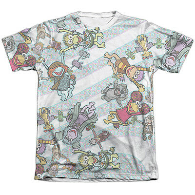 Fraggle Rock CYCLONE 1-Sided Sublimated Big Print Poly Cotton T-Shirt