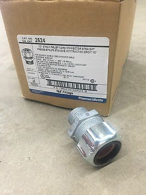 """Steel 1pc 1//2 Thomas /& Betts 2522 Cable Gland 0.375 /"""" 0.5 /"""""""