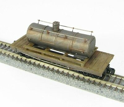 Nn3 Scale 24 Ft. Tank Car Kit by Showcase Miniatures (5012)