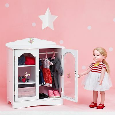 Olivia's Little World Baby Doll Furniture Fancy Closet by Teamson Kids