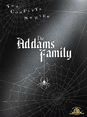 The Addams Family - Complete Series (DVD, 2007, 9-Disc Set) Free Shipping