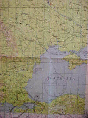 1948 Manchuria Region Aeronautical Chart Map By The Us Army Airfo