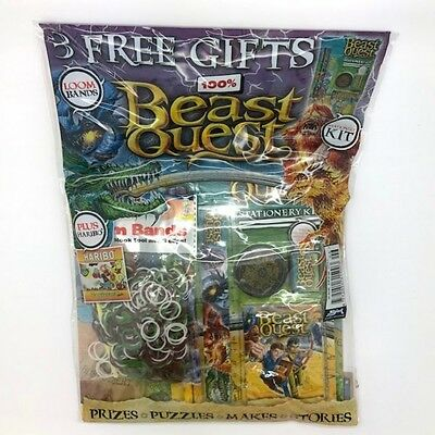 Beast Quest Magazine Issue 2 - Rare - Brand New & Sealed