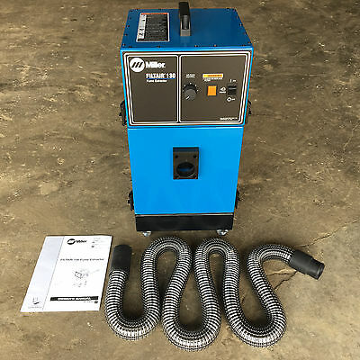 NEW Miller Filtair 130 Portable Weld Fume Extractor