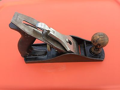 Vintage Wards Master No. 4 smooth bottom plane made in USA.