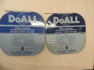 DoALL BAND SAW BLADE STOCK - 3/8 X 8 PITCH & 1/4 X 14 PITCH