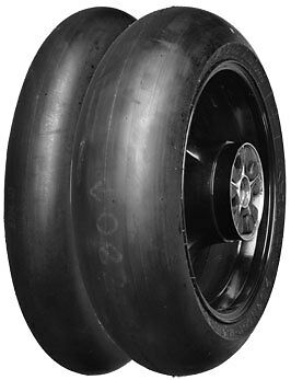 DUNLOP D211 GP RACER SLICKS 120/70-17 (Med) + 200/55-17 (Med) *FREE POST*