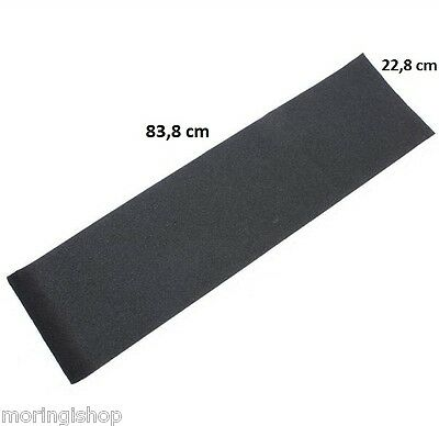 "BLACK DIAMOND GRIPTAPE, Black/Schwarz, Sheet Grip, Skateboard Longboard (9x33"")"