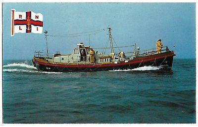 Vintage Postcard. A Barnett Class Lifeboat. Unused. Ref:73399