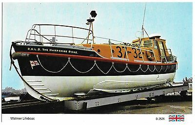 Vintage Postcard.  Walmer Lifeboat - The Hampshire Rose. Unused.  Ref:73391