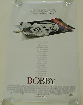 Bobby 27X40 Ds Movie Poster One Sheet New Authentic