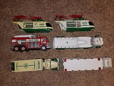 Hess truck lot untested