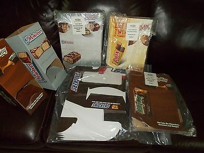 Mars Snickers & TWIX  MilkyWay 3- Musketeer Store Candy Displays New  Birthdays
