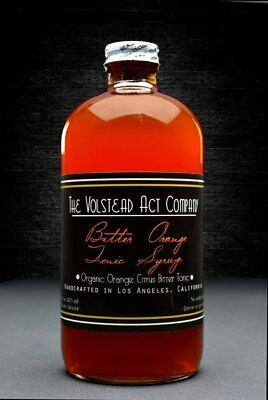 The Volstead Act Bitter Orange Tonic Syrup 473ml
